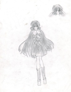 Boceto 02 - Kurumi 01
